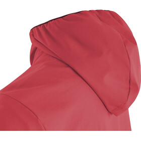 GORE WEAR H5 Windstopper Veste à capuche isolante Femme, hibiscus pink/chestnut red